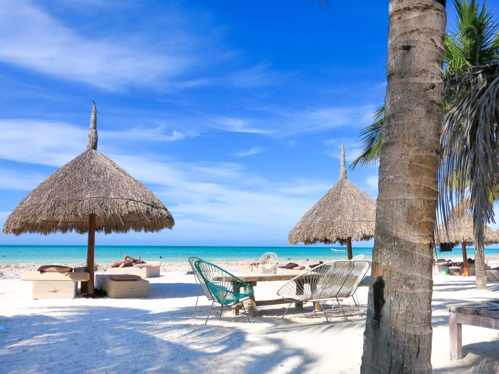 Your Curator - Travel Planning Services | Top destinations for a luxury digital detox for your next holiday. Holbox is a beautiful paradise island off Mexico near Cancun and Tulum. Full of boutique hotels and no cars on the island!
