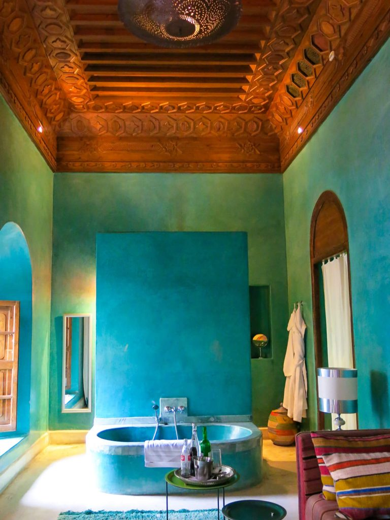 A luxury boutique riad hotel in Marrakech, Morroco. El Fenn is a stunning hotel on the medina walls. Perfect for a weekend break and some winter sun!