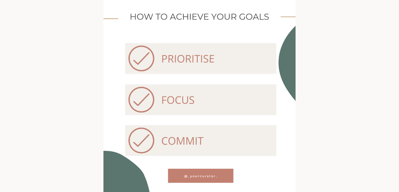 Tips on how to achieve business goals, tips on how to achieve career goals, how to achieve personal goals.